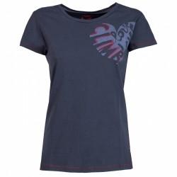 T-shirt trekking Rock Experience Brea Femme bleu