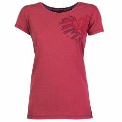 Trekking t-shirt Rock Experience Brea Woman red