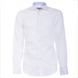 Camisa Canottieri Portofino 002-3P Hombre blanco