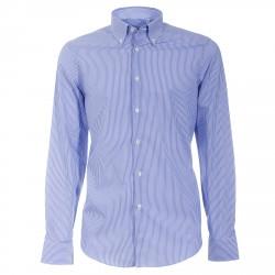 Camisa Canottieri Portofino 021-3B Hombre azul-blanco
