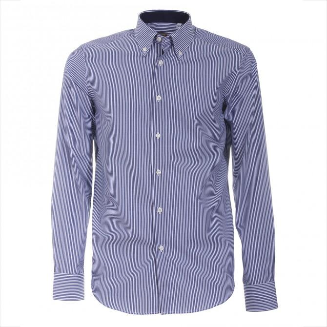 Camisa Canottieri Portofino 021-3G Hombre azul-blanco