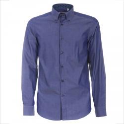 Camisa Canottieri Portofino 021-3R Hombre azul