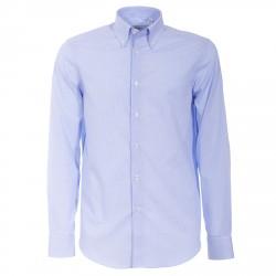 Camisa Canottieri Portofino 022-3B Hombre azul claro
