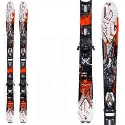 ski K2 Amp Rictor 90 Xti + bindings Vist V212 + plate Quik Lock
