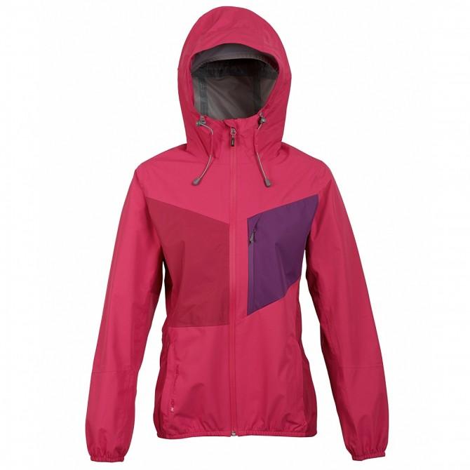 Trekking jacket Rock Experience Crash Woman fuchsia-purple
