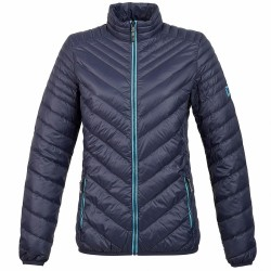Trekking down jacket Rock Experience Spark Woman blue