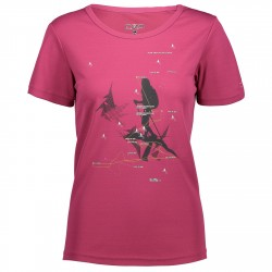 T-shirt trekking Cmp Donna