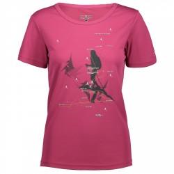 T-shirt trekking Cmp Femme