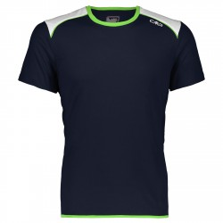 T-shirt trail running Cmp Uomo blu