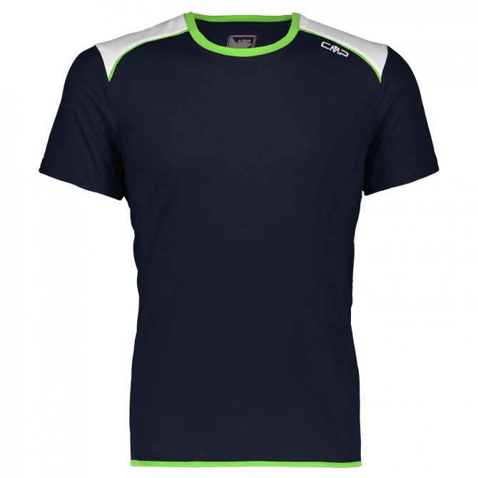 Trail running t-shirt Cmp Man blue