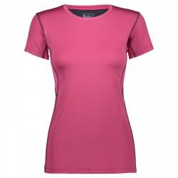 T-shirt trail running Cmp Femme pourpre