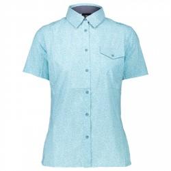 Camiseta trekking Cmp Mujer azul claro
