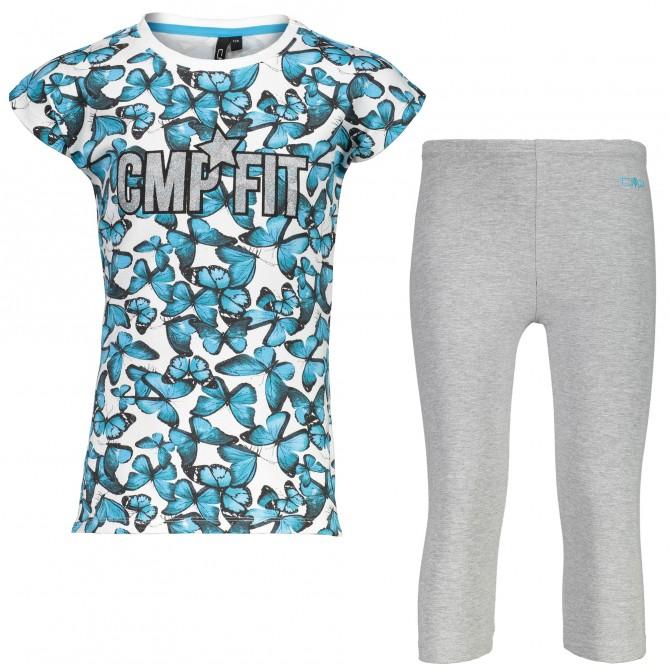 T-shirt + leggings Cmp Bambina