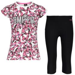 T-shirt + leggings Cmp Fille