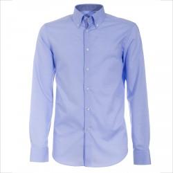 Shirt Canottieri Portofino 105 regular fit Man light blue