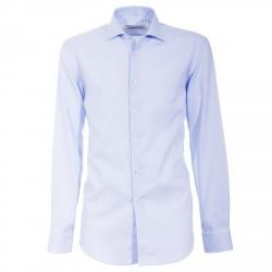 Camicia Canottieri Portofino 014 slim fit Uomo azzurro