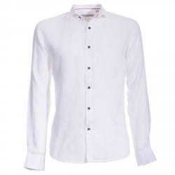 Camisa Canottieri Portofino de lino Hombre blanco