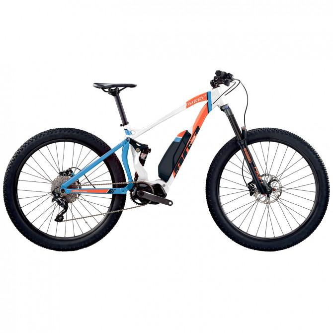 E-bike Wilier Triestina E 803 TRB COMP SLX 1x10 S bianco-rosso-blu