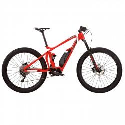 E-bike Wilier Triestina E 803 TRB COMP SLX 1x10 S rojo-blanco