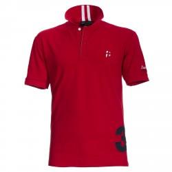 Polo Canottieri Portofino 140 Coach con número Hombre rojo