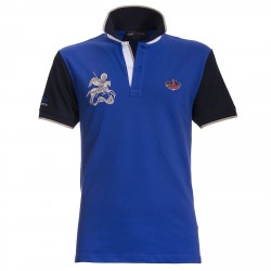 Polo Canottieri Portofino 120 Gold Uomo royal