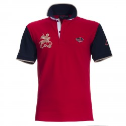 Polo Canottieri Portofino 120 Gold 4 Man red