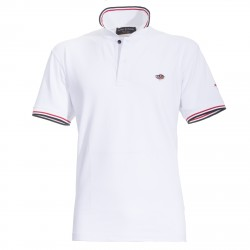 Polo Canottieri Portofino 100 Cross Man white