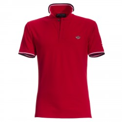 Polo Canottieri Portofino 100 Cross Homme rouge