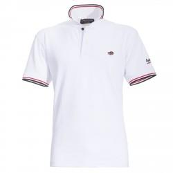 Polo Canottieri Portofino 100 Logo Hombre blanco