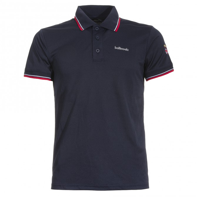 Technical polo Canottieri Portofino Man black-blue