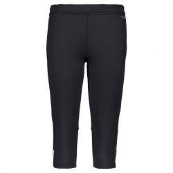 Pantalones 3/4 trail running Cmp Mujer negro