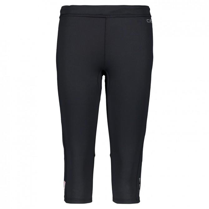 Pantalon 3/4 trail running Cmp Femme noir