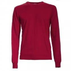 Suéter Canottieri Portofino cuello redondo Hombre rojo