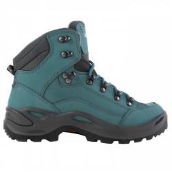 Zapatos trekking Lowa Renegade Gtx Mid Mujer verde