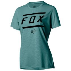 T-shirt ciclismo Fox Ripley Bars Donna verde