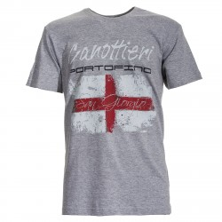 T-shirt Canottieri Portofino Genova Hombre gris