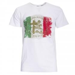 T-shirt Canottieri Portofino Italia Hombre blanco