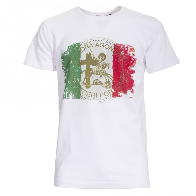 T-shirt Canottieri Portofino Italia bianco
