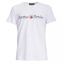 T-shirt Canottieri Portofino Logo Hombre blanco