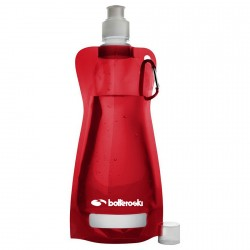 Botella plegable Bottero Ski rojo