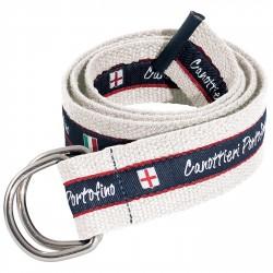 Cinturón Canottieri Portofino Hombre blanco