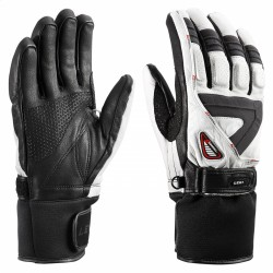ski gloves Leki Griffin S woman white