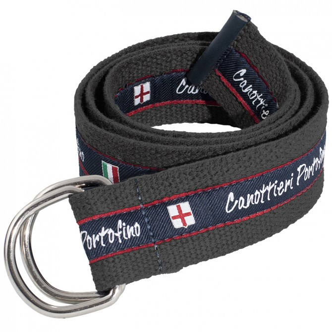 Cinturón Canottieri Portofino Hombre gris