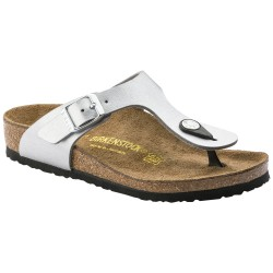Thongs Birkenstock Gizeh Woman silver