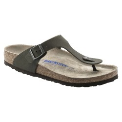 Thongs Birkenstock Gizeh Man green