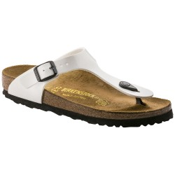 Thongs Birkenstock Gizeh Woman patent white