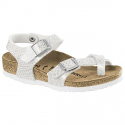 Thongs Birkenstock Taormina Girl white snake (24-34)
