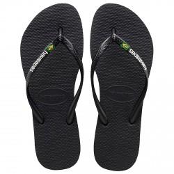 Flip-flop Havaianas Brasil Slim Logo black