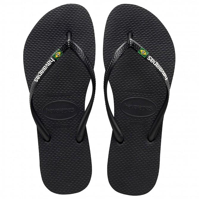 Flip-flop Havaianas Brasil Logo black