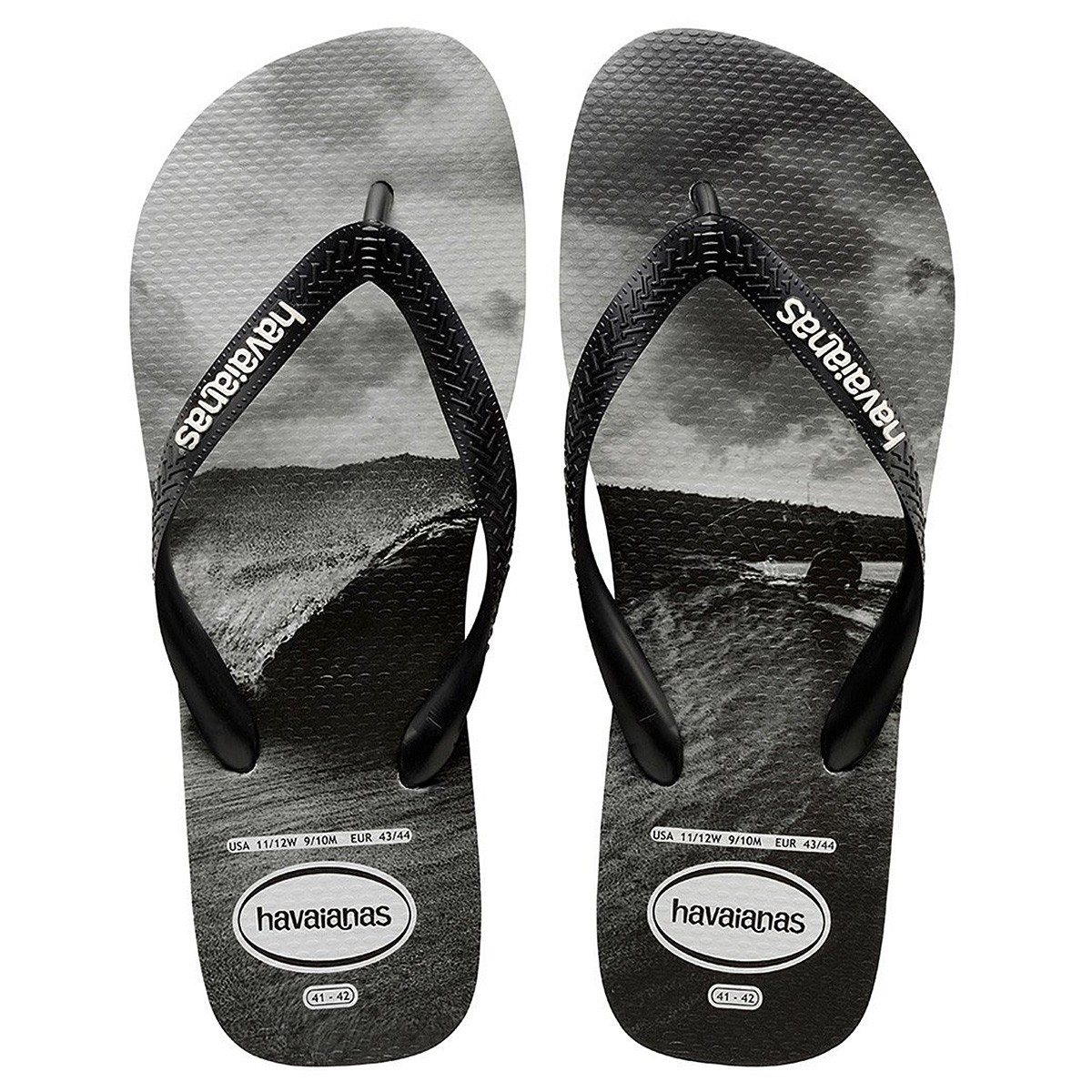 tongs havaianas photoprint homme chaussures et sandales. Black Bedroom Furniture Sets. Home Design Ideas